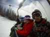 chairlift with the locals