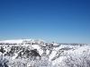 ski village on the top of the mountain